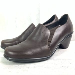 Dansko brown leather shoes women's size 39